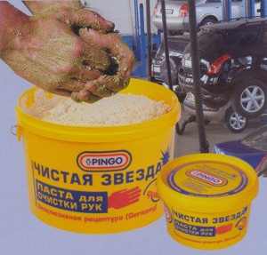рецепт пасты для мытья рук